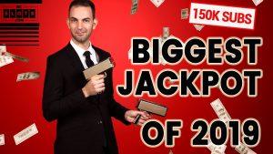 HUGE ➡ BIGGEST JACKPOT OF 2019 – 1,666X/BET WIN TO CELEBRATE 150,000 SUBS  ✪ BCSlots