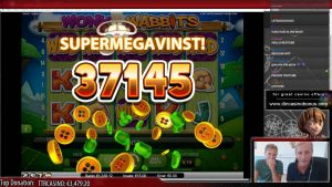 Wonky Wabbits - Super mega fitore e madhe - Casino Streamer