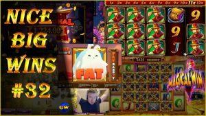 Nice big wins #32 | casino streamers, online slots.