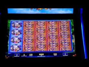 Cheshire Cat Slot Machine Bônus Bellagio Casino Las Vegas Big Win Over 100X