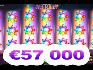 €57000 starburst slot MEGA BIG WIN!