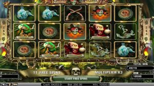 "Online casino slot big win €70000 – ""Ghost Pirates"""