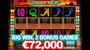 book of ra win €72000, 2 bonus games