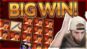 GROTE OVERWINNING! Bruce Lee BIG WIN - Wild lines ?! - Casinospellen van CasinoDaddy Live Stream