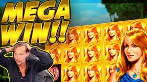 MEGA WIN!! Garden of Riches BIG WIN!! HUGE WIN from CasinoDaddy Live Stream