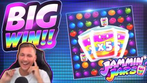 Үлкен жеңіс !!! Jammin jarars BIG WIN !! CasinoDaddy Live Stream-тен онлайн-казино слоттары