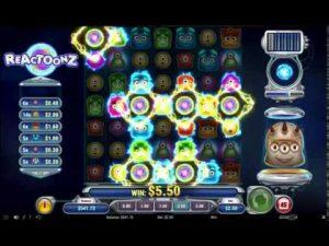 Reactoonz Online Casino Slot Big Win!