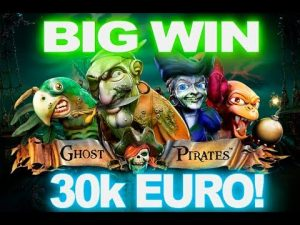 Ghost Pirates - SUPER BIG WIN - 30 XNUMX EURO!