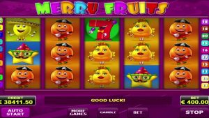 Merry Fruits online casino slot big win – €60,000