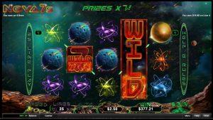 Nova 7s Online Casino Slot Big Win!
