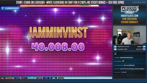 MEGA ΚΕΡΔΙΣΤΕ! ΜΕΓΑΛΥΤΕΡΑ ΚΕΡΔΙΣΤΕ! Ο JAMMIN JARS BIG κερδίζει την τεράστια νίκη στα παιχνίδια καζίνο