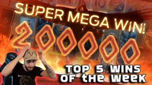 VIKINGS X2000 MEGA BIG WIN 🔥 5 didžiausių internetinių kazino laimėjimų 14 #
