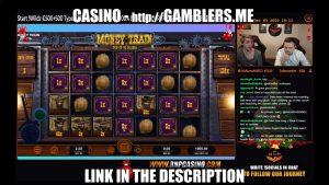 1550 EURO BIG WIN on MONEY TRAIN Slot   Casino Stream Big Wins2