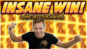 INSANE WIN! Sword Of Khans Big win – NEW SLOT – Casino Games from Casinodaddy Live Stream