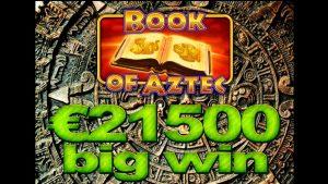 Book Of Aztec mega big casino vyhraje 21500 €