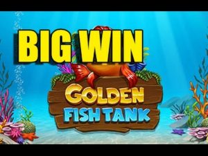 Online casino 1.75 euro inzet ENORME WINST - Golden Fish Tank GROTE WINST