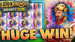 HUGE WIN In El Dorado Infinity Reels