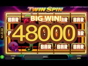 BIN WIN 48,000 EURO עם משבצת קזינו Twin Spin!