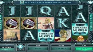 Mega BIG WIN – EUR 102,000 in THUNDER STRUCK 2 casino slot