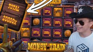 Streamer Record giành được x20.000 trên Money Train - Top 5 chiến thắng lớn trong sòng bạc