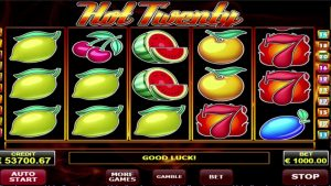 Hot twenty BIG WIN online casino win – €65,000. Amatic provider!