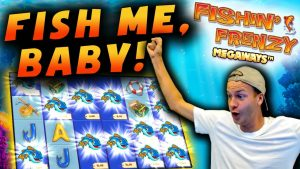 HUGE WIN on Fishin' Frenzy Megaways!
