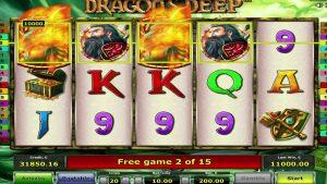 Dragons Deep Casino slot  MEGA WIN – €40k, 4 scatters,  2 bonus games!!