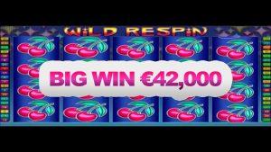 wild respin BIGWIN – €42000