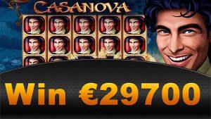 Casanova SLOT от Amatic ! RECORD BIG WIN! 29700 EURO!