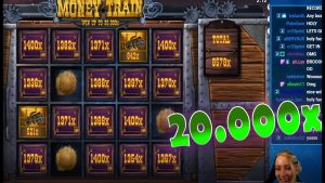 20.000x MAX WIN on MONEY TRAIN | Live CasinoWins