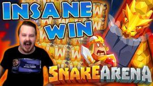 SUPER MEGA VINNUR í Snake Arena