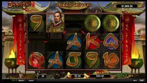 Zhanshi Online Casino Slot Big Win!