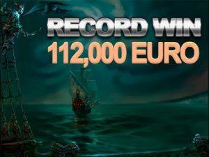MY RECORD BIG WIN 112,000 EURO in GHOST PIRATES!