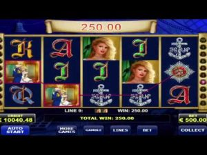 "Super Big Win in ""Admiral nelson"" online casino slot –  €48,500, Amatic game provider."