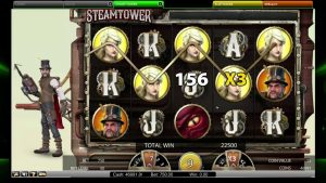 Steamtower casino slot – BIG WIN 100,500 COINS! It is AMAZING!