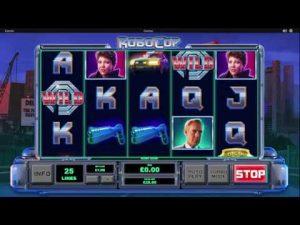 Kiểm tra khe Robocop Casino
