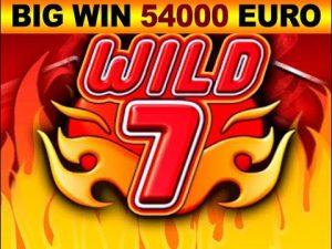 Wild7 Casino Big WIN – 54000 EURO!