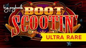 ULTRA RARE BONUS! Boot Scootin' Slot – BIG WIN SESSION!