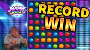 RECORD WIN!!! Jammin Jars Huge Win – BIG WIN on Online Slots from MrGambleSlots