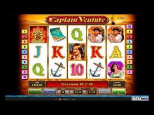 Kapteiņa Venture lielā laime | Novomatic | Rizk kazino