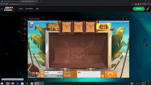 Skulls up- BET 0.40 Big Win :) – Drift Casino
