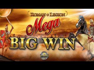 MEGA BIG WIN BEI ROMAN LEGION (GAMOMAT) – 5€ EINSATZ!