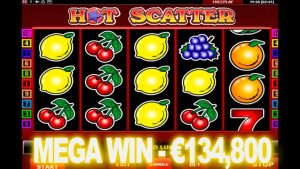 HOT SCATTER AMATIC slot big win – €134,800