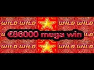 Hot star slot SUPER WIN – €86000 . It is AMAZING!
