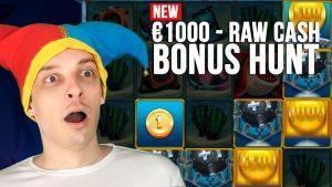 Check Bonus Hunt Results – 16 Slots bonuses, Big Wins!
