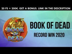 BOOK OF DEAD BIG WIN 25 000 EUR!!! ONLINE CASINO WINS.  BIGGEST WINS OF WEEK