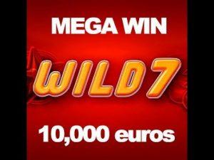 wild7 online casino slot BIG WIN €100000
