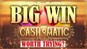 CASHOMATIC BIG WIN – NEW NETENT CASINO SLOT!