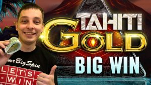 TAHITI GOLD SLOT BIG WIN OF MRBIGSPIN