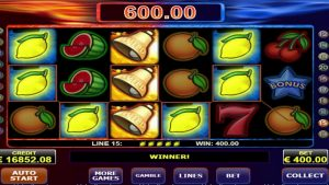 Fire and ice casino slot big win €16800